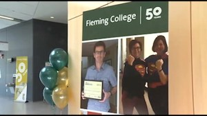 Fleming College boasts record enrollment on 50th birthday