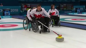 Canada's mixed curlers fall to China in Paralympic semifinal