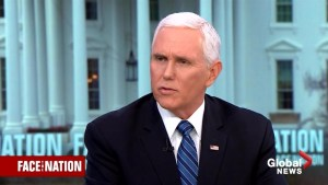 Pence comments on Buzzfeed report and his own remarks about ISIS defeat