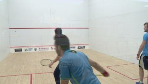 Lethbridge hosts professional squash event