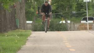 Protected bike lane network in Winnipeg years away (01:29)