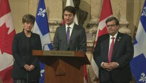 Justin Trudeau says Canada looking to do more to help South Sudan famine (00:44)