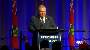 Doug Ford says he won't allow a carbon tax to be instituted