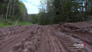Sussex-area farmers complain about badly damaged road