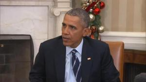 President Obama promises that 'we'll get to the bottom' of San Bernardino shooting motive