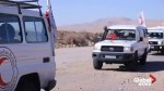 Aid convoy reaches remote Syrian refugee camp