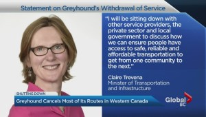 What do Greyhound cancellations mean for British Columbians?