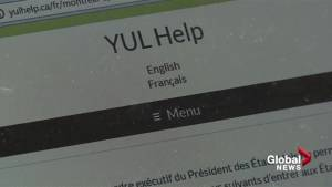 McGill reaches out to students affected by Trump travel ban (01:29)