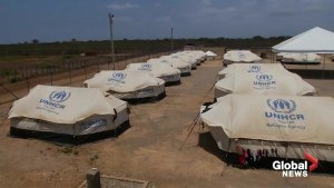 UN refugee camp offers temporary respite for Venezuelan migrants