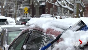 Wintery weather costly for Montreal