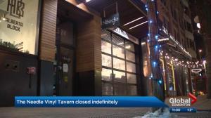 Needle Vinyl Tavern closes indefinitely