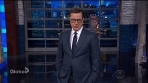 Stephen Colbert has 11 words for Donald Trump
