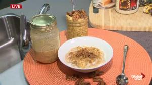 Fall Meal Ideas: Pumpkin Pie Overnight Oats