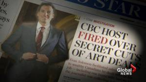 Evan Solomon fired from CBC after art deal revelation