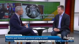 Pipeline and Starbucks on this week's Touchdowns & Fumbles