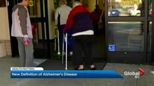 Scientists seek new medical definition of Alzheimer's