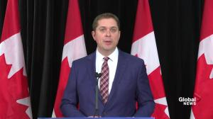 Scheer claims Trudeau 'bullied and threatened' Jody Wilson-Raybould over SNC-Lavalin
