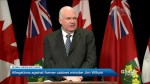 Allegations against former Ontario cabinet minister Jim Wilson