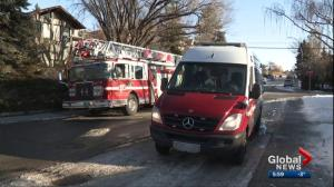 Elderly woman dies following house fire in northwest Calgary