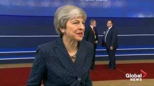 Theresa May at Brussels summit to put Brexit delay to EU leaders