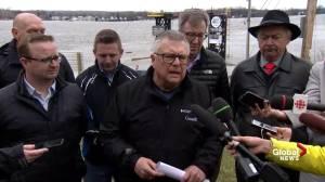 Minister Goodale provides update on Ottawa, Quebec flooding