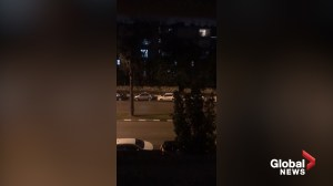 Sirens blare in Tel Aviv, Israel as apparent rocket attack from Gaza approaches