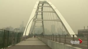Edmontonians endure another round of smoky conditions