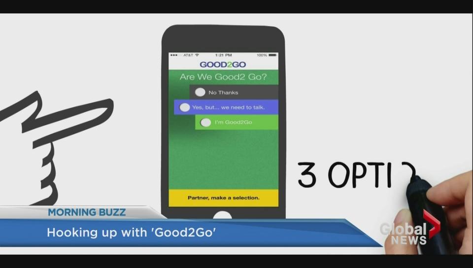 Good 2 go dating app
