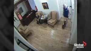 Leaked video offers glimpse into Julian Assange's life inside Ecuador embassy