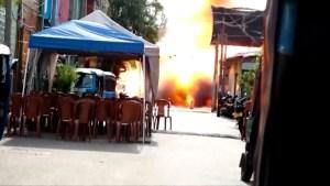 Van explodes near Sri Lanka church, sending shock waves through capital