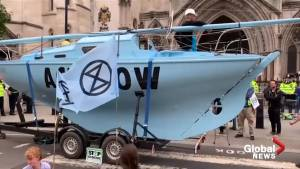 Climate activists disrupt London with 'summer uprising'