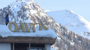 As the rich move into Davos, the cost of a hamburger platter hits $75