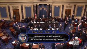 Senate confirms Jeff Sessions as new attorney general