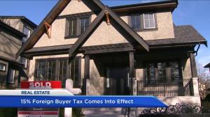 Realtor predicts impact of 15% foreign buyer tax on B.C. real estate