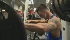 Bodybuilder rebuilds after motorcycle accident gave him one per cent chance of walking again
