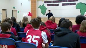 Saskatoon school sponsors refugee family