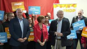 B.C. premier John Horgan launches Nanaimo byelection campaign
