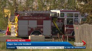 Gas leak on 68 Street S.E. in Calgary Tuesday