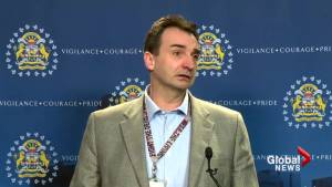 'We honestly thought we would be dealing with a homicide': Calgary police (00:35)