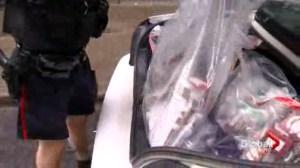 Police raid marijuana dispensaries across the city