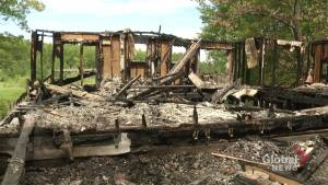 Suspicious fire destroys abandoned home in Alderville First Nation