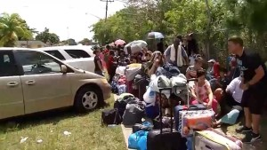 Long lines form for Hurricane shelters in Florida as Irma approaches