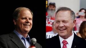 Alabama voters head to polls to vote between Roy Moore, Doug Jones for Senate