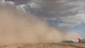 Arizona cleaning up after massive dust storm