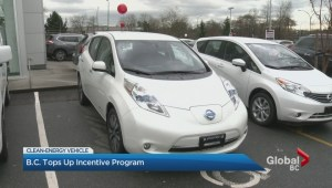 NDP topping up clean energy vehicle rebate