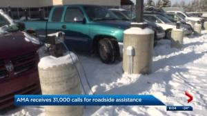 Edmonton drivers get tips on how to handle cold snap