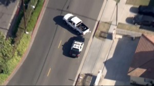 California man leads police on wild chase