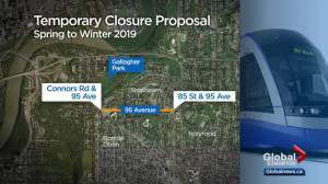 Questions raised about proposal for Edmonton neighbourhood dealing with LRT construction