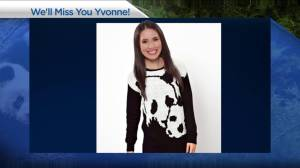 We will miss you Yvonne!