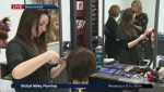 Students prepare for regional hairdressing Olympiad
